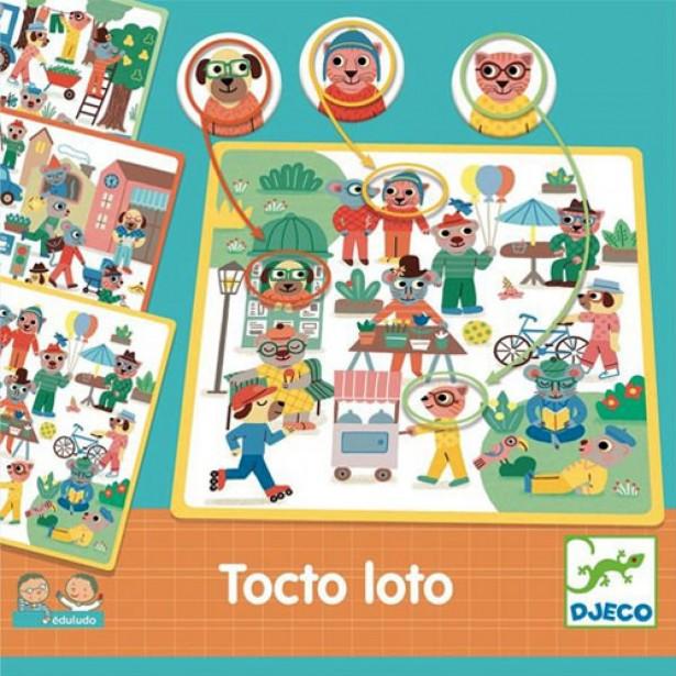 Joc de vocabular Djeco - Eduludo Tocto