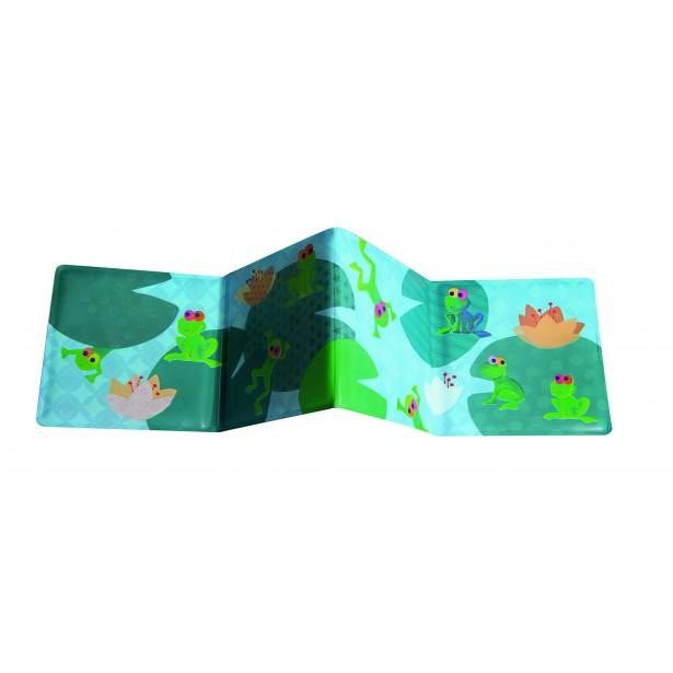 Carte cu broscute pentru baita bebelusului - Egmont