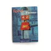 Puzzle magnetic cu roboti Egmont