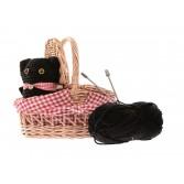 Cos cu andrele pentru tricotat Egmont