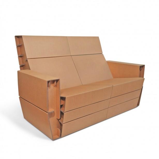 Canapea din carton COUCHER
