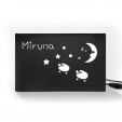 Veioza personalizabila din carton Personal Dreamer, Foldo Romania