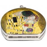 Oglinda Fridolin Klimt - Sarutul