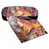 Etui cu textil si protectie ochelari Fridolin - Art Nouveau