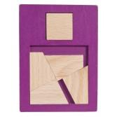 Joc logic din lemn extra piesa Fridolin - dificultate 2