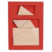 Joc logic din lemn extra piesa Fridolin - dificultate 6