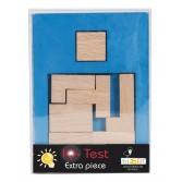Joc logic din lemn extra piesa Fridolin - dificultate 3