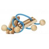 Joc logic puzzle 3D Fridolin - elibereaza inelul in cutie metalica - 5