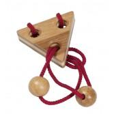 Joc logic puzzle 3D Fridolin - elibereaza inelul in cutie metalica - 6