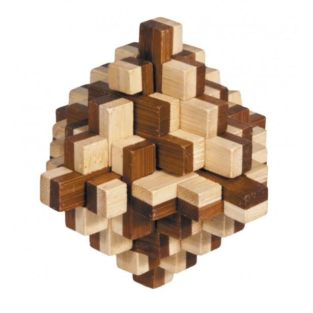 Joc logic puzzle 3D din bambus Fridolin - Iceberg