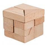 Joc logic puzzle 3D din lemn Fridolin - dificultate 4
