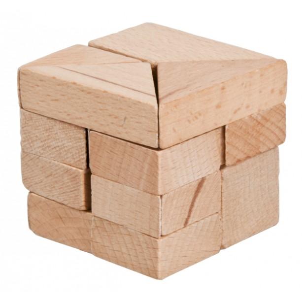 Joc logic puzzle 3D din lemn Fridolin - 11