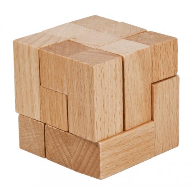Joc logic puzzle 3D din lemn Fridolin - 12