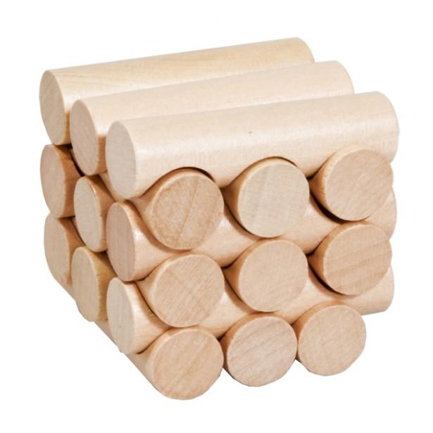 Joc logic puzzle 3D din lemn Fridolin - 13