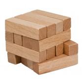 Joc logic puzzle 3D din lemn Fridolin - 14