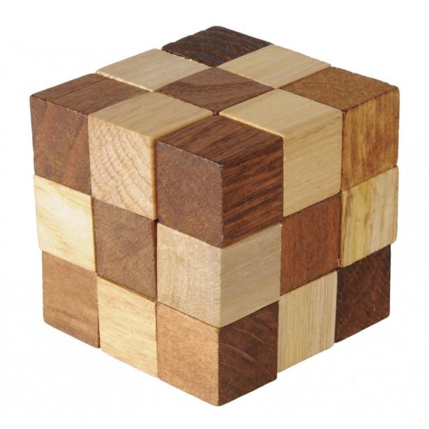 Joc logic din lemn Fridolin - Crazy Cube