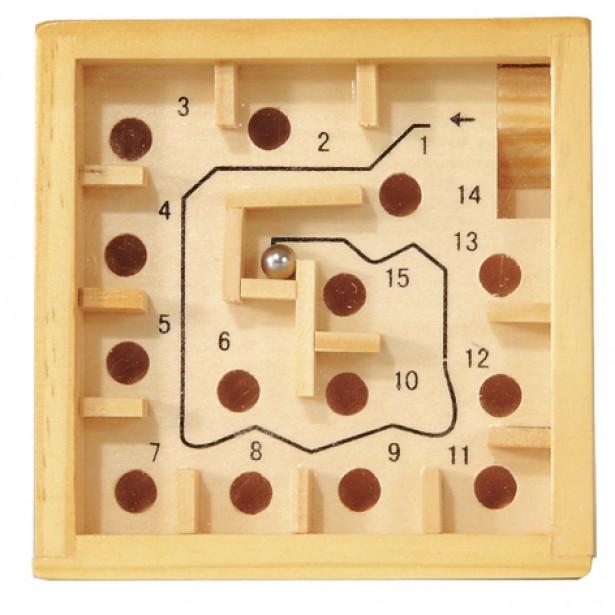 Labirint numerotat cu bila natur Fridolin