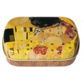Cutiuta metalica Fridolin - Klimt - The Kiss
