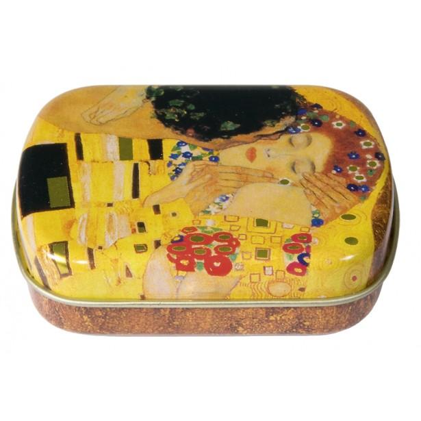 Cutiuta metalica Fridolin - The Kiss Klimt