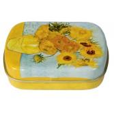 Cutiuta metalica Fridolin - Van Gogh - Floarea soarelui