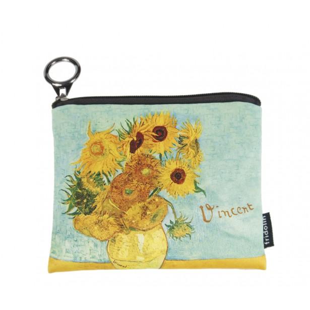 Portmoneu textil Fridolin - Van Gogh Sunflowers