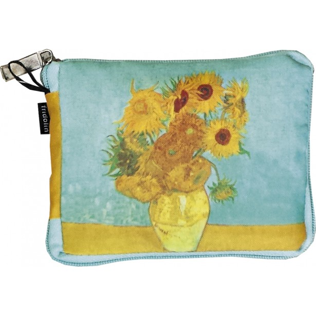 Sacosa textil Fridolin - Van Gogh - Sunflowers