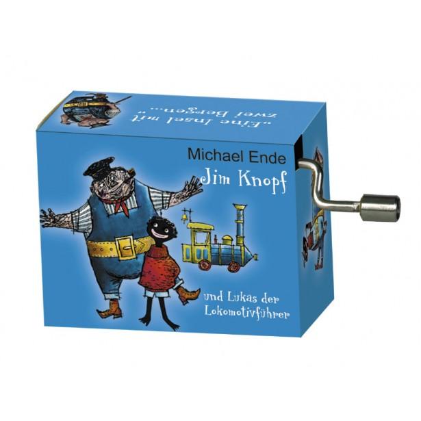 Flasneta Fridolin - Jim Knopf albastru