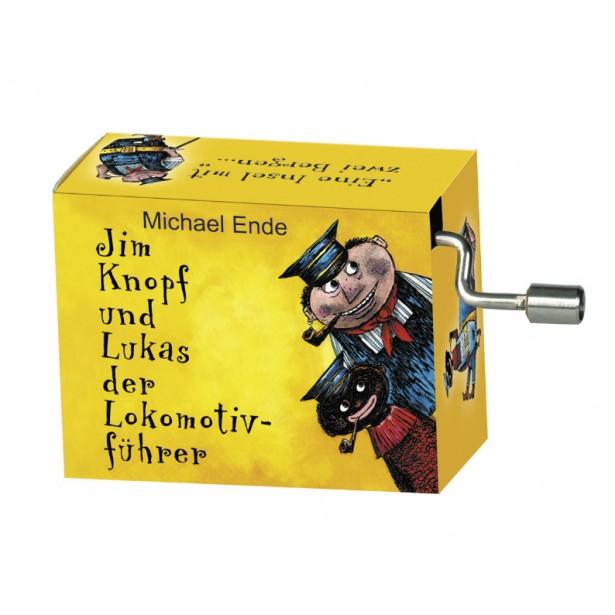 Flasneta Fridolin - Jim Knopf galben