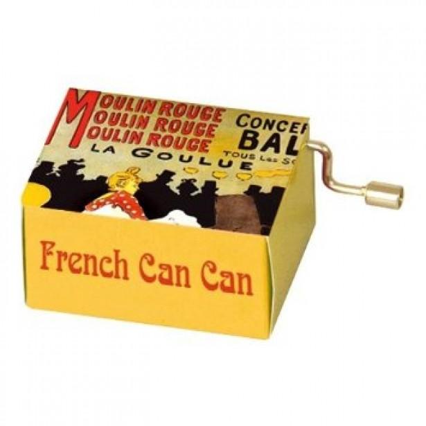 Flasneta Fridolin - Moulin Rouge - French Cancan