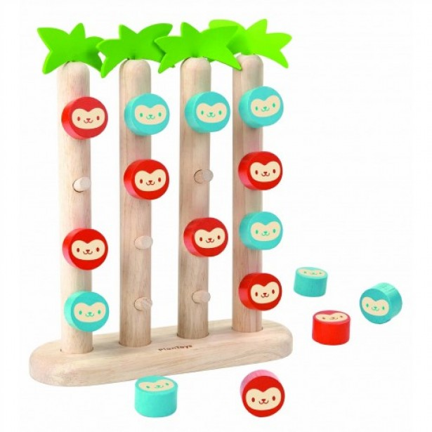 Joc clasic - Jocul Maimutelor Plan Toys