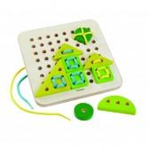 Joc de insiruit cu placa de baza si 4 figuri geometrice