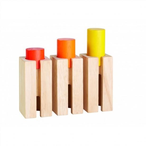 Set educativ vizualizarea in spatiu Plan Toys