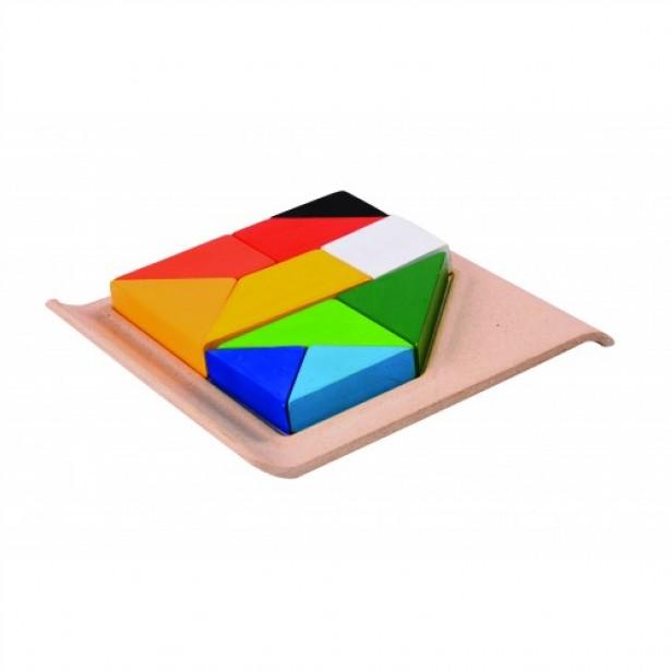 Set educativ forme geometrice tip puzzle