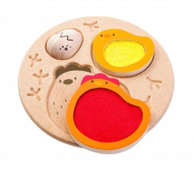 Puzzle educativ - gaina Plan Toys