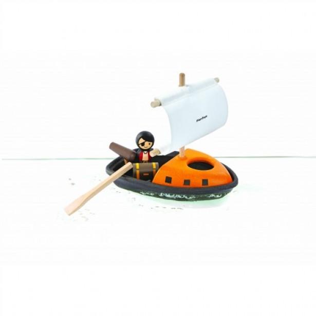 Set pentru apa - pirat cu corabie Plan Toys