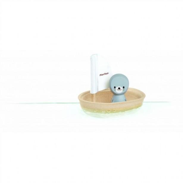 Jucarie pentru apa - Barcuta Foca - Plan Toys
