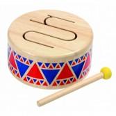 Instrument muzical pentru copii Plan Toys - Toba