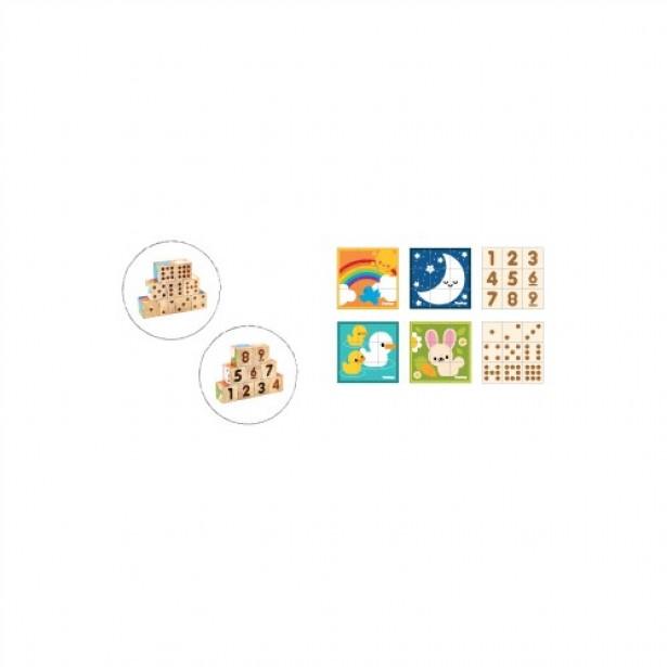 Set educativ cu cuburi
