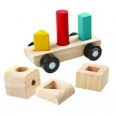 Set pentru recunoasterea culorilor si formelor 3 Plan Toys