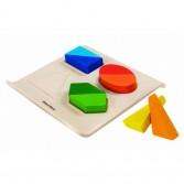 Set educativ 4 forme geometrice