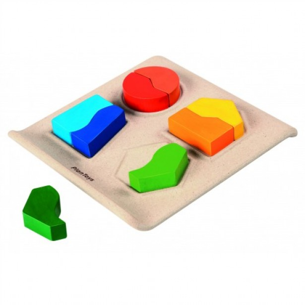 Set educativ 8 piese tip puzzle