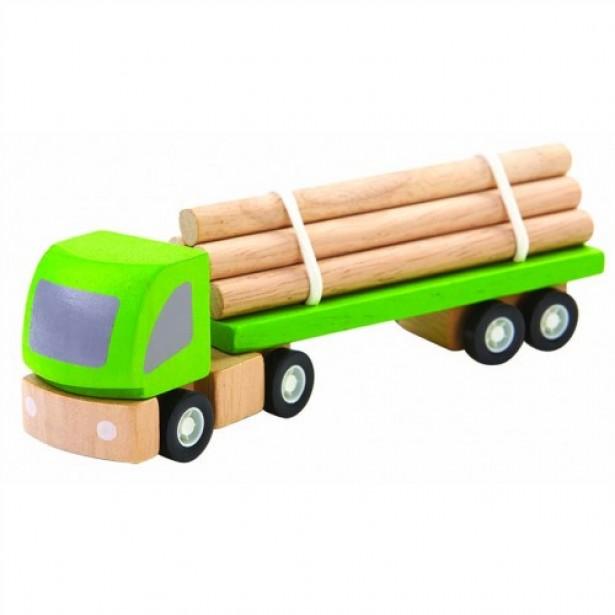 Jucarie - camion pentru busteni Plan Toys