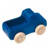 Camion din lemn cu portbagaj – albastru