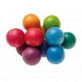 Jucarie cu bile mari si colorate pentru bebelusi