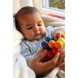 Jucarie cu bile mari si colorate pentru bebelusi GRIMM'S