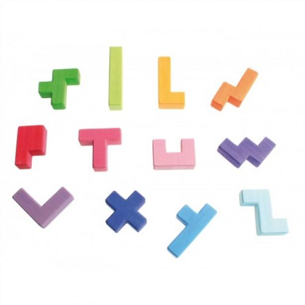 Joc popular de indemanare si geometrie - 12 Pentomino GRIMM'S