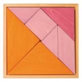 Puzzle tip tangram