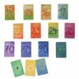 Set cu 48 de carduri ilustrate pentru invatarea numerelor, varianta 2 Grimm's