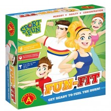 Joc educativ miscare Fun-Fit, Alexander Games