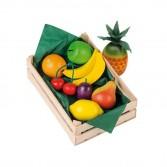 Cos fructe asortate din lemn, Erzi